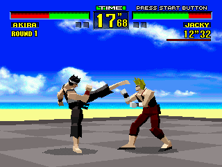 Virtua Fighter (Europe)