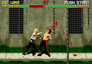 Mortal Kombat II (Europe)