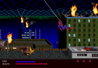 Amazing Spider-Man, The - Web of Fire (USA)