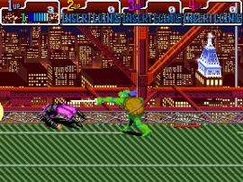 Teenage Mutant Hero Turtles - Turtles in Time (4 Players ver. EAA)