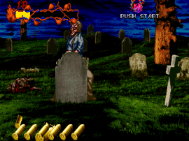Zombie Raid (9/28/95, Japan, prototype PCB)