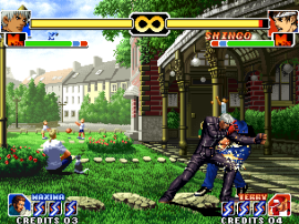 The King of Fighters '99 - Millennium Battle (Korean release, non-encrypted program)