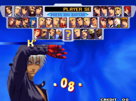 The King of Fighters 2000 (Playstation 2 ver. , EGHT hack) [hack only enable in AES mode]