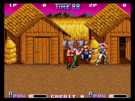 Double Dragon II - The Revenge (US bootleg, set 2) [Bootleg]