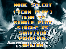The King of Fighters '98 (Anniversary Edition build 1.2.0827) [Hack]