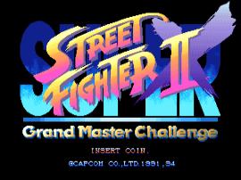 Play Arcade Super Street Fighter Ii X Grand Master Challenge