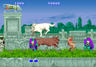 Altered Beast (set 5, FD1094 317-0069 decrypted) [Bootleg]