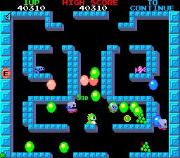 Bubble Bobble: Lost Cave V1.2 (for Bobble Bobble PCB) [Bootleg]