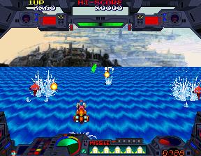 Burning Force (Japan, new version (Rev C))