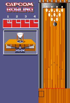Capcom Bowling (set 2)