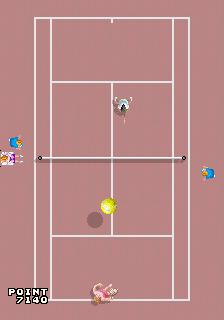 Center Court (World, 4 Players, prototype, MC-8123B)