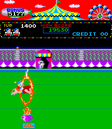 Circus Charlie (level select, set 1)