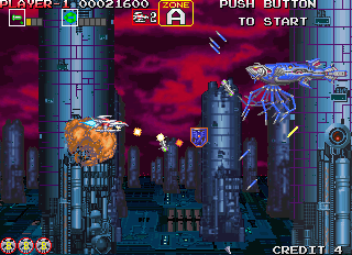 Darius Gaiden - Silver Hawk (Ver 2.5J 1994/09/19)