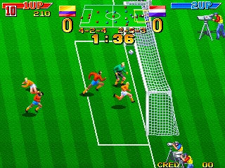 Dream Soccer '94 (Korea, M107 hardware)