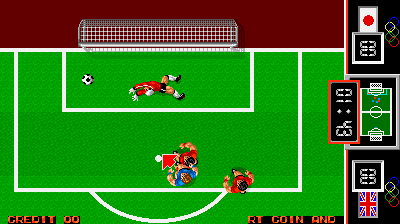 Fighting Soccer (Joystick hack bootleg)