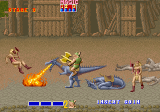 Golden Axe (set 3, World, FD1094 317-0120 decrypted) [Bootleg]