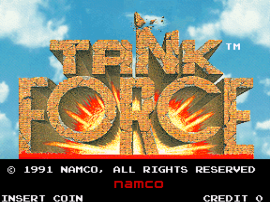 Tank Force (US, 2 Players)
