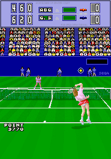 Passing Shot (Japan, 4 Players, FD1094 317-0070 decrypted) [Bootleg]
