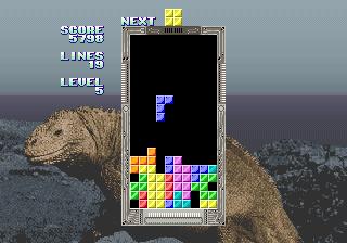 Tetris (set 2, Japan, System 16B, FD1094 317-0092 decrypted) [Bootleg]