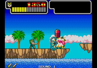 Wonder Boy III - Monster Lair (set 5, Japan, System 16A, FD1089A 317-0086 decrypted) [Bootleg]