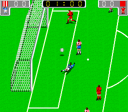 Euro League (Italian hack of Tecmo World Cup '90 - alt version) [Bootleg]