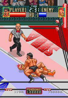 Wrestle War (set 1, Japan, FD1094 317-0090 decrypted) [Bootleg]