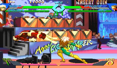 Play Arcade X Men Vs Street Fighter 960910 Asia Online In Your