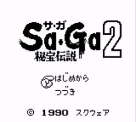 Sa-Ga 2 - Hihou Densetsu (Japan) (Rev A)