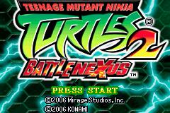 Teenage Mutant Ninja Turtles - Double Pack (U)(Sir VG)