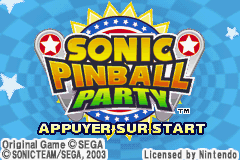 2 in 1 - Sonic Advance & Sonic Pinball Party (E)(Rising Sun)