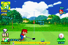 Mario Golf - Advance Tour (G)(Rising Sun)