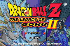 2 in 1 - Dragon Ball Z - The Legacy of Goku I & II (U)(Rising Sun)