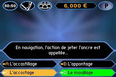 Qui Veut Gagner Des Millions (F)(Patience)
