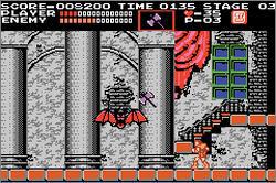 Classic NES - Castlevania (U)(BatMan)