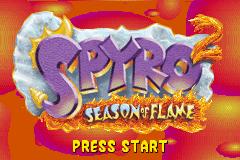 2 in 1 - Spyro - Season of Ice & Spyro - Season of Flame (U)(Independent)