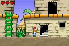 Woody Woodpecker In Crazy Castle 5 (E)(Mode7)