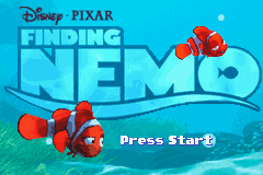 2 in 1 - Finding Nemo & Monsters Inc. (U)(Sir VG)