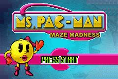 2 in 1 - Ms. Pac-Man - Maze Madness & Pac-Man World (U)(Sir VG)