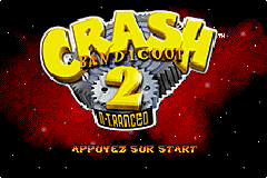2 in 1 - Spyro - Season of Ice & Crash Bandicoot 2 - N-Tranced (E)(Rising Sun)