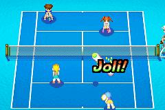 Mario Power Tennis (E)(Rising Sun)