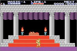 Classic NES - Zelda II - The Adventure of Link (U)(BatMan)