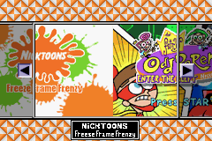 4 Games On One Game Pak - Nickelodeon (U)(Sir VG)