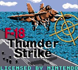 F-18 Thunder Strike (USA, Europe)