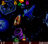 Galaga - Destination Earth (USA)