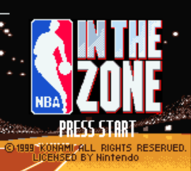 NBA In the Zone (USA) (Rev A)
