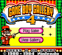 Game Boy Gallery 4 (Australia)