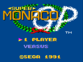 Super Monaco GP (USA, Europe)