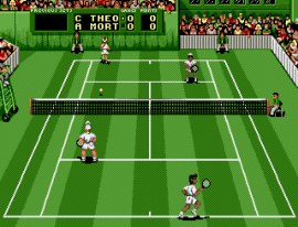 Pete Sampras Tennis (USA, Europe) (J-Cart) (MDSTEE 13)