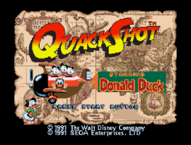 QuackShot Starring Donald Duck ~ QuackShot - Guruzia Ou no Hihou (World)