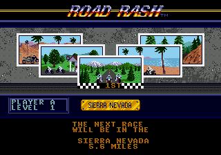 Road Rash (USA, Europe)